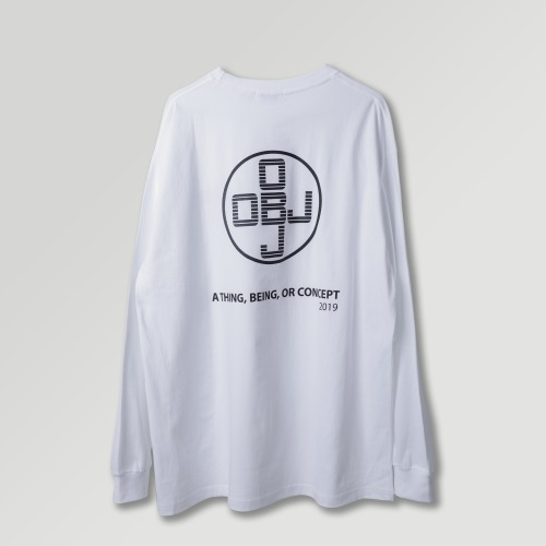 [OBJECT] OBJ CONCEPT LONG SLEEVE - WHITE