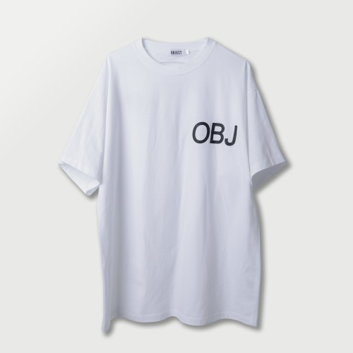 [OBJECT] OBJ WORLD T-SHIRT - WHITE
