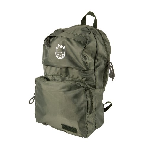 [Spitfire] BURN DIVISION Packable Backpack - MILITARY GREEN 60010041B00