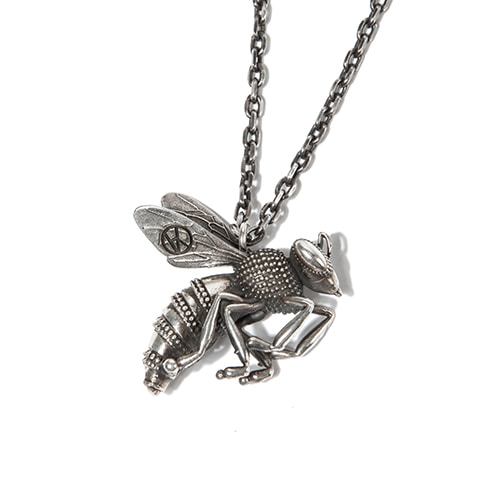 [KING] HANA-BEE Necklace -Silver