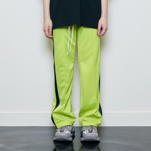 [D.PRIQUE] Track Pants Neon/Black