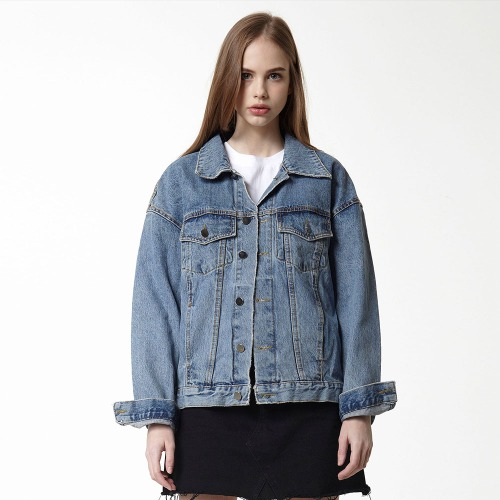[DUCK DIVE] EP DENIM JACKET LIGHT BLUE