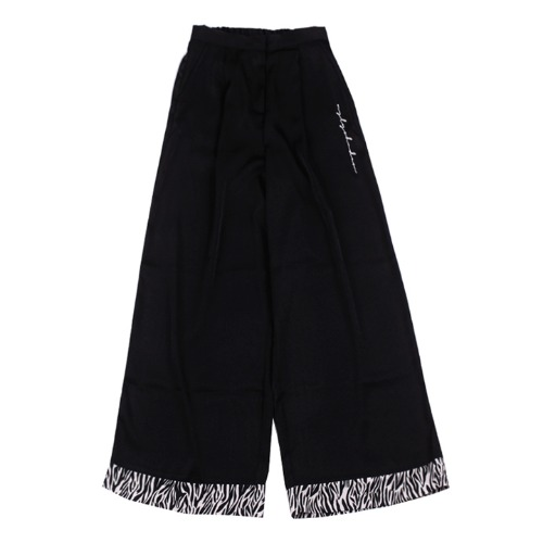 [UGLYSHADOW]  ZEBRA POINT PANTS(BLACK)