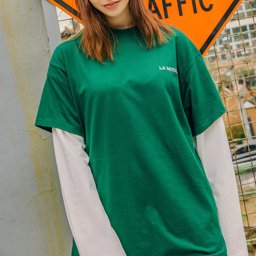 [LAMODECHIEF] LAMC LUMINOUS SHORT SLEEVE (GREEN)