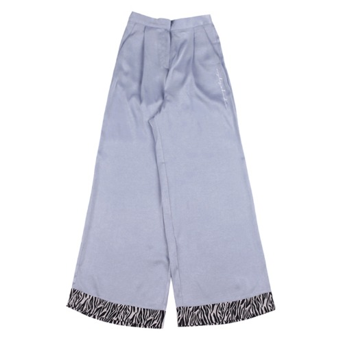 [UGLYSHADOW]  ZEBRA POINT PANTS(BLUE)