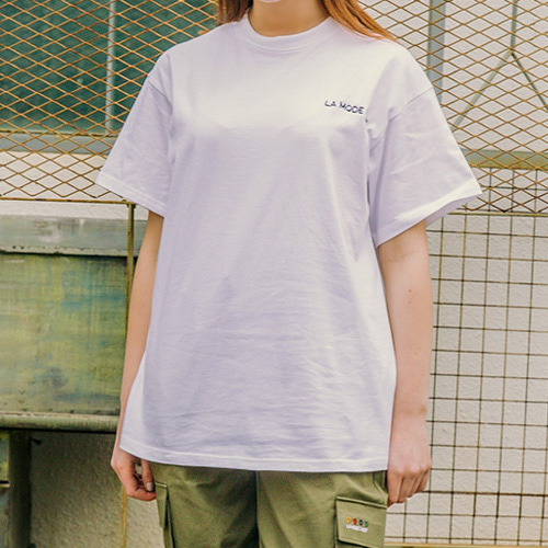 [LAMODECHIEF] LAMC LUMINOUS SHORT SLEEVE (WHITE)