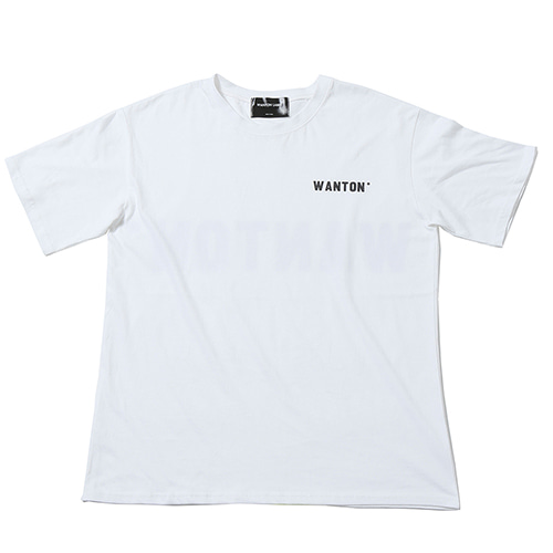 [WANTON] BIG LOGO TSHIRTS WHITE