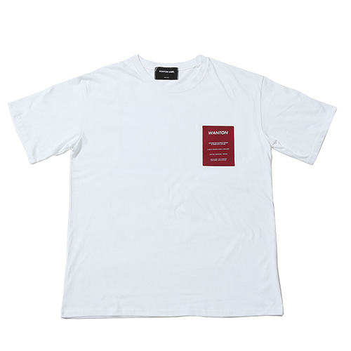 [WANTON] OLD TV TSHIRTS WHITE