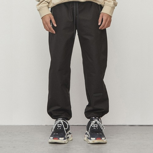 [D.PRIQUE] String Jogger Pants Matte Black