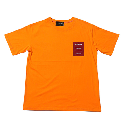 [WANTON] OLD TV TSHIRTS ORANGE