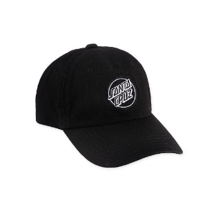 [SANTA CRUZ]  Classic patch land cap - Black