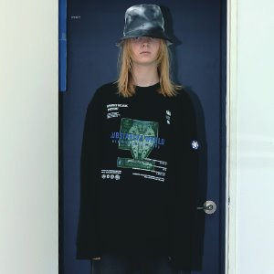 [APPARELXIT] UNISEX SPACE SWEAT SHIRTS BLACK