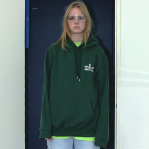 [APPARELXIT] UNISEX NETWORK PROJECT HOODIE GREEN