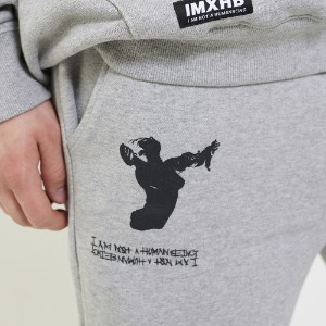 Ballerina Sweat Pants - H.Grey