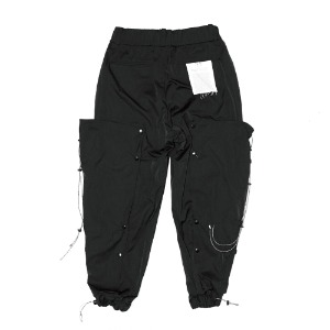 [XNADUWORKS] Snap Jogger pants - Black