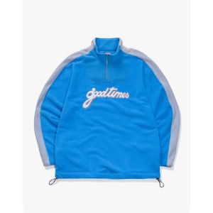 [have a good time] Good Time Half-Zip Fleece - Blue