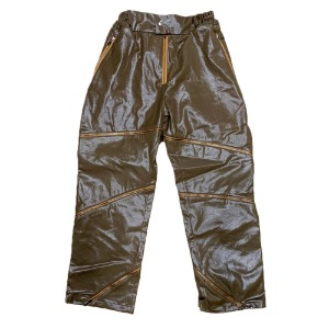 [XNADUWORKS] Zipper pants - Brown
