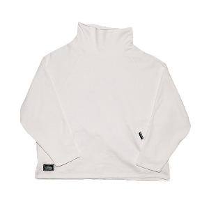 [XNADUWORKS] C-logo Turtleneck - White