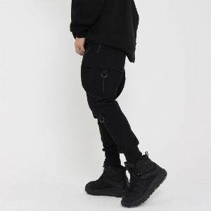 [UNCOMMEN/언커맨] UCN FLAT TECH JOGGER PANTS_BLACK