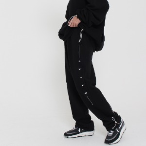 [UNCOMMEN/언커맨] UCN STRING TRACK PANTS_BLACK