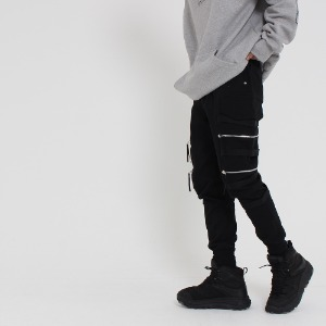 [UNCOMMEN/언커맨] UCN TWOWAY TECH JOGGER PANTS_BLACK