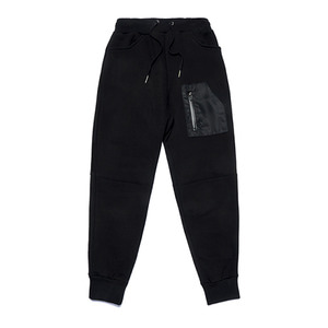 [STIGMA]STGM TECH HEAVY SWEAT JOGGER PANTS - BLACK