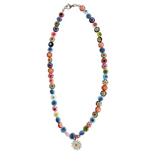 [TWENTYONEAUGUST]SMILEY DAISY NECKLACE - MULTI