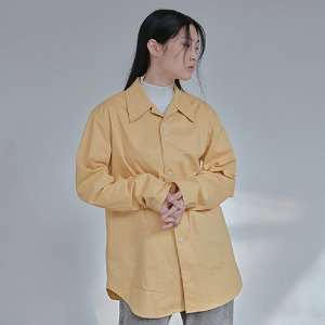 [XYZ] UNISEX 3.1.1 WIDE COLLAR SHIRT - MUSTARD