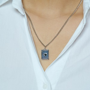 [HAWHA] Card necklace
