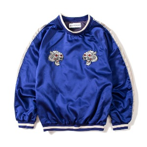 [KING]Sukajan Sweatshirt -Blue