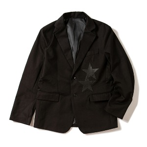 [KING]Single-breasted Blazer -Black