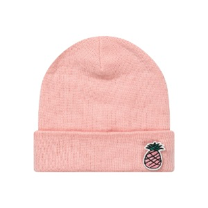 [PINK PINEAPPLE] WAPPEN BEANIE_PINK