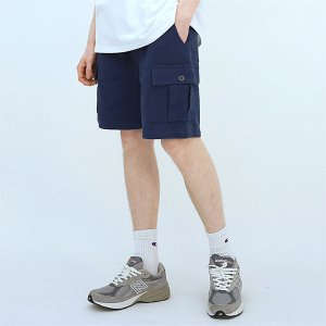 [TENBLADE] Explorer washing cargo short-navy