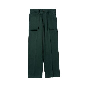 [NONAMENEED] Dark green patch pocket pants