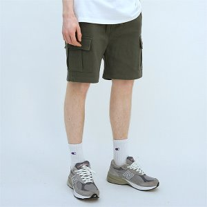 [TENBLADE] Explorer washing cargo short-khaki