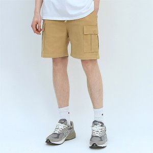 [TENBLADE] Explorer washing cargo short-beige
