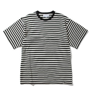 [KING] BORDER T-Shirt -Black