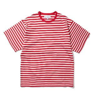[KING] BORDER T-Shirt -Red