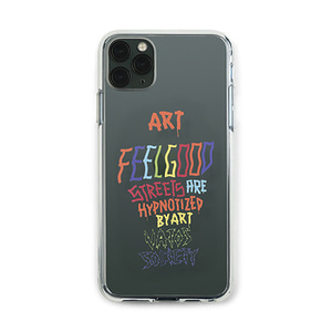 [STIGMA]PHONE CASE ART CLEAR iPHONE 11 / 11 Pro / 11 Pro Max