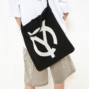 [OY]LOGO KNIT CROSS BAG
