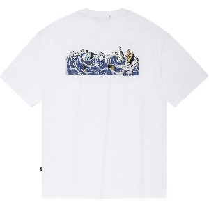 [NOT4NERD]Tidal Wave T-Shirts White