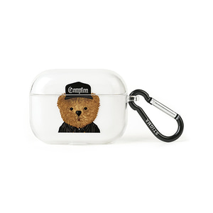 [STIGMA]AirPods Pro CASE COMPTON BEAR - CLEAR