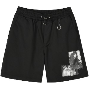 [FLAREUP] Patch Shorts (FU-216_Patch Black)
