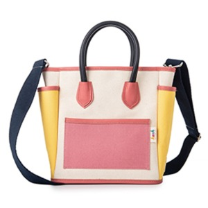 [키치스튜디오] CARRY TOTE BAG - BerryYellow (BG20003L1)