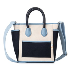 [키치스튜디오] CARRY TOTE BAG - BloomingBlue (BG20004L1)