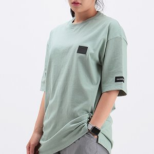 [OHVERDOSE]||PATCH LOGO BASIC SHORT SLEEVE D.MINT