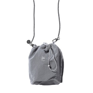 [AAC] SYMBOL LOGO String Bag-gray