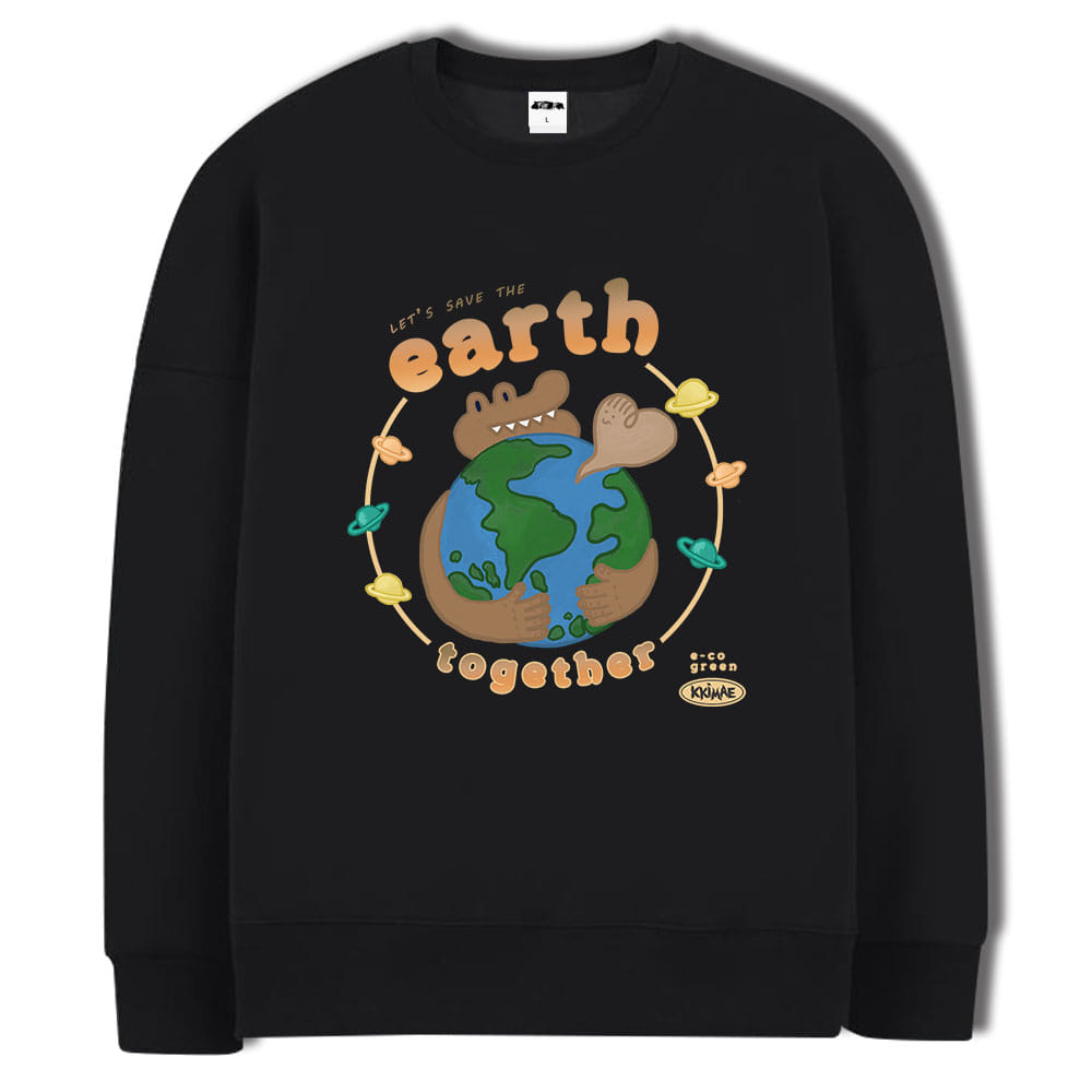 [키매] earth CREWNECK