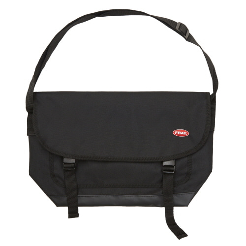 [FRAY] FRAY MESSENGER BAG - BLACK