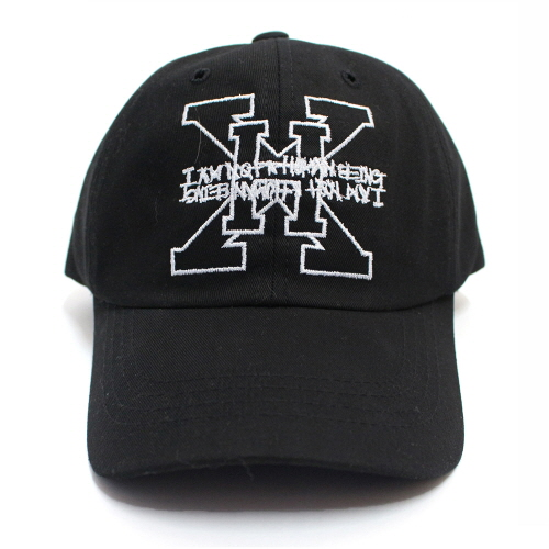 XHB Logo Ball Cap - Black